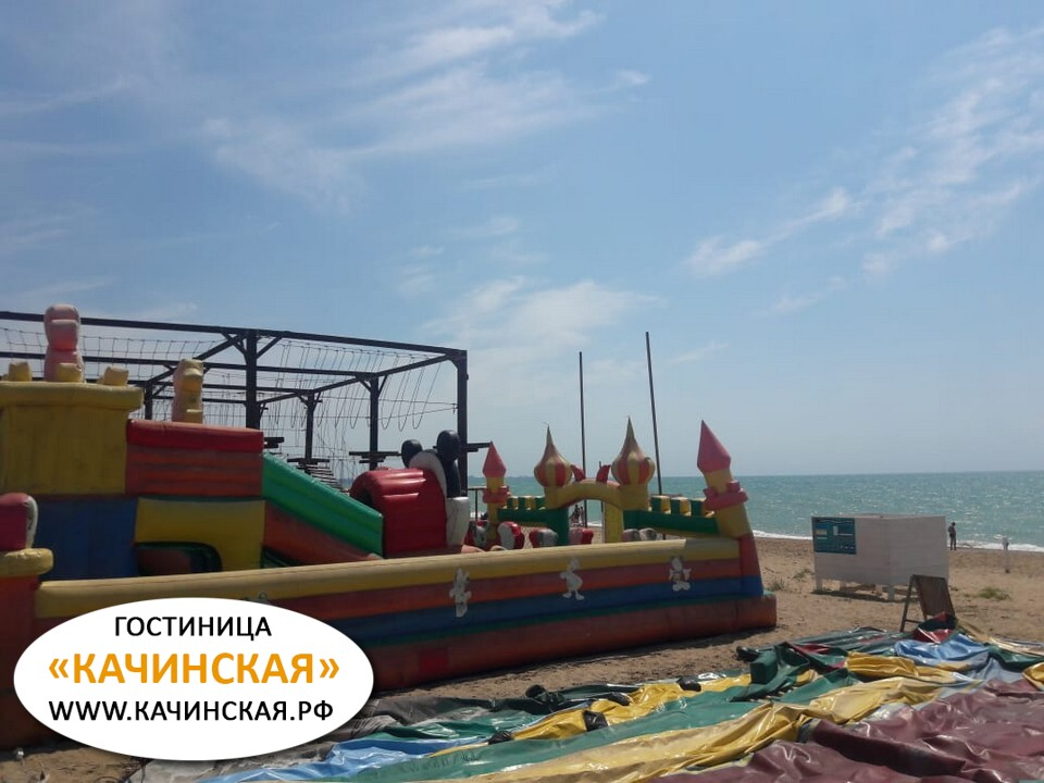Пляж Орловка Севастополь