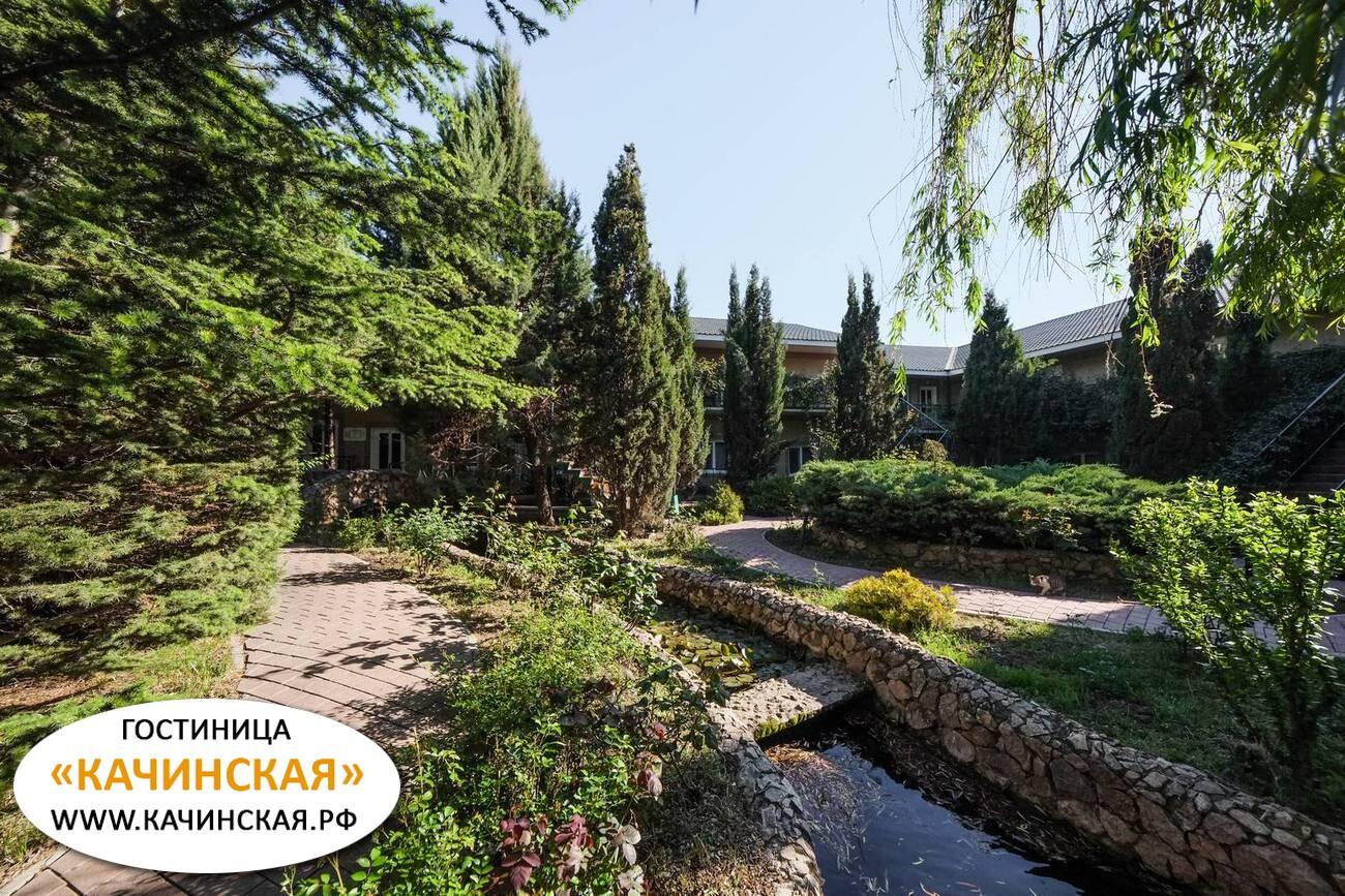 Отдых в Орловке Качинская гостиница  Севастополь